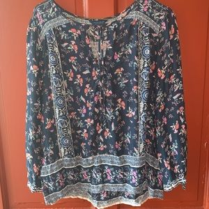 Lucky Brand blouse size small
